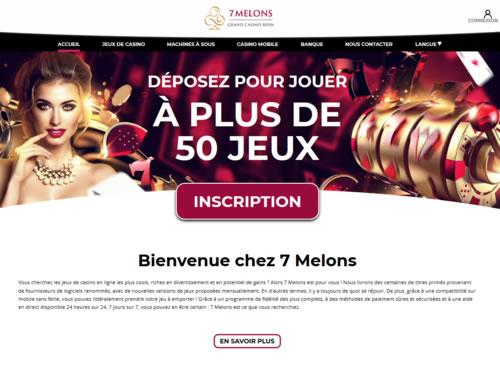 7melons.ch : Le Grand Casino de Berne innove avec son nouveau casino en ligne