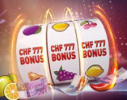 Casino777.ch offre d'attrayants bonus pour accueillir ses joueurs Suisse