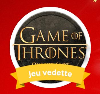 Game of Thrones : bonus sur la machine à sous de Mycasino.ch