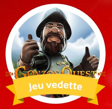 Gonzo's Quest - jeu de la semaine sur MyCasino.ch