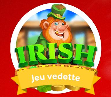 Irish Pot Luck : Spéciale promotion « Jeu Vedette » sur Mycasino.ch