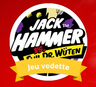 Jack Hammer : Des tours gratuits à remporter sur Mycasino.ch