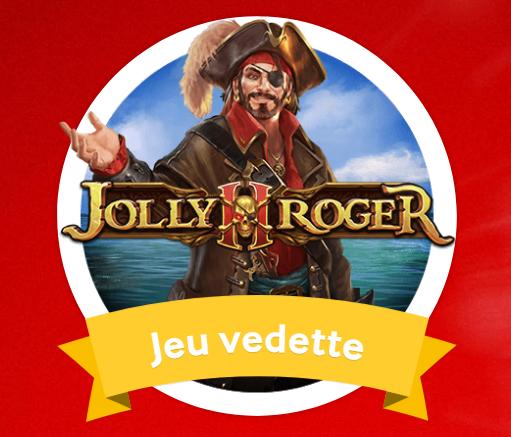 Jolly Roger 2 : Participez au jeu vedette sur Mycasino.ch
