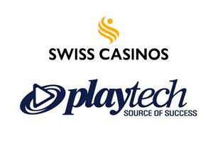 Partenariat entre Swiss Casinos et Playtech pour l'ouverture du marché Suisse