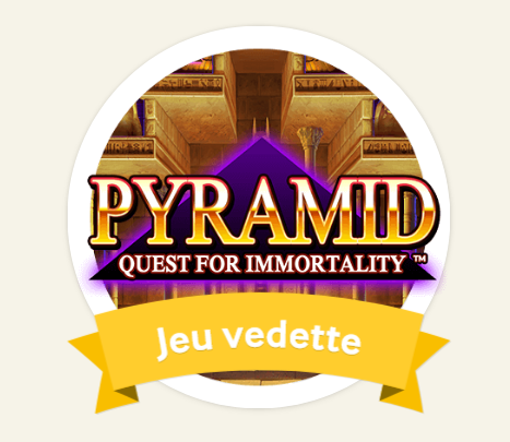 Pyramid : Quest for Immortality - Game Of The Week cette semaine sur Mycasino.ch
