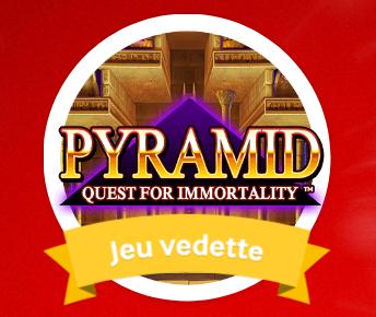 Pyramid : Quest for Immortality - Participez au jeu de la semaine sur Mycasino.ch