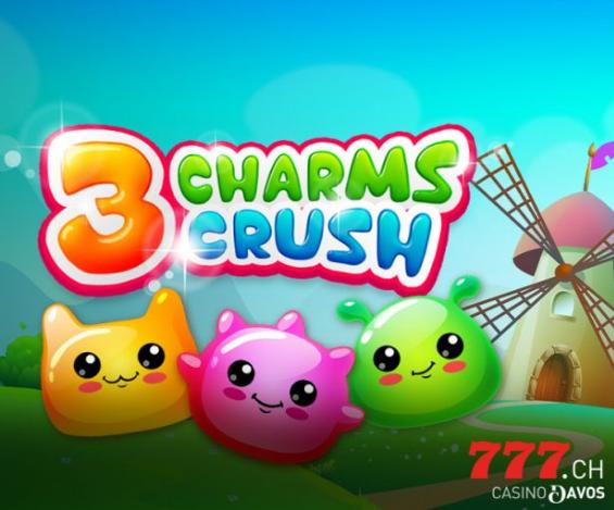 RTP de 97,23% avec 3 Charms Crush d'iSoftBet sur Casino777.ch