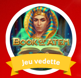 Spéciale campagne Game of the week sur Mycasino.ch avec Book of Atem